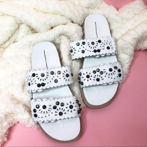 NEW Free People spellbound leather studded sandals